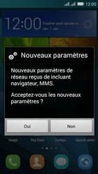 Huawei Y635 Dual SIM - Paramètres - Reçus par SMS - Étape 5