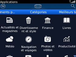 BlackBerry curve 3G - Applications - Télécharger une application - Étape 8