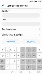 Huawei P8 Lite (2017) - Email - Configurar a conta de Email -  13