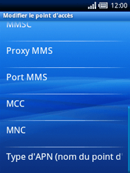 Sony Ericsson Xperia X10 Mini - Internet - Configuration manuelle - Étape 10