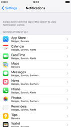 Apple iPhone 6 iOS 10 - iOS features - Customise notifications - Step 4