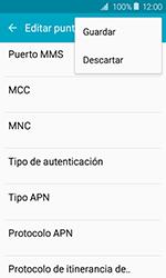 Samsung Galaxy J1 (2016) (J120) - Mensajería - Configurar el equipo para mensajes multimedia - Paso 14