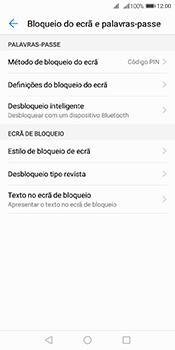 Huawei Y6 (2018) - Segurança - Como ativar o código de bloqueio do ecrã -  11