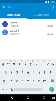 Huawei Nexus 6P - MMS - afbeeldingen verzenden - Stap 4