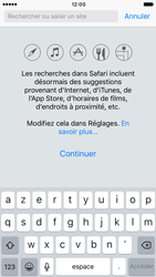 Apple iPhone 6 iOS 10 - Internet - navigation sur Internet - Étape 3
