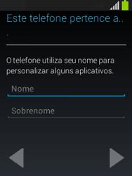Samsung S5310B Galaxy Pocket Neo - Primeiros passos - Como ativar seu aparelho - Etapa 14