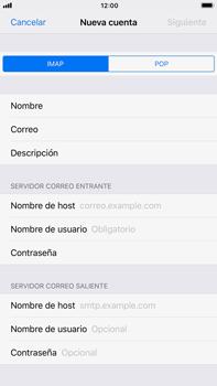 Apple iPhone 7 Plus iOS 11 - E-mail - Configurar correo electrónico - Paso 10