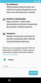 Motorola Moto G6 Plus - Primeiros passos - Como ativar seu aparelho - Etapa 18