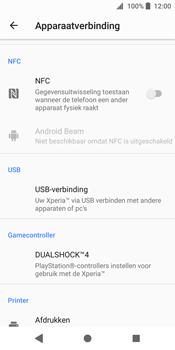 Sony Xperia XZ2 (H8216) - NFC - NFC activeren - Stap 5
