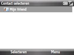 HTC S521 Snap - E-mail - Hoe te versturen - Stap 7