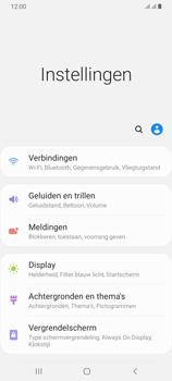 Samsung Galaxy A70 - Beveiliging en privacy - automatische schermblokkering instellen - Stap 4