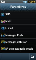 Samsung S8000 Jet - SMS - configuration manuelle - Étape 5