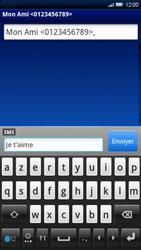Sony Ericsson Xperia X10 - Mms - Envoi d