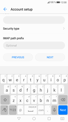 Huawei P9 Lite - Android Nougat - E-mail - Manual configuration IMAP without SMTP verification - Step 13