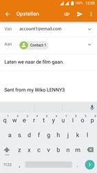Wiko Lenny 3 - E-mail - E-mails verzenden - Stap 8
