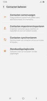 Samsung galaxy-a50-dual-sim-sm-a505fn - Contacten en data - Contacten kopiëren van toestel naar SIM - Stap 6