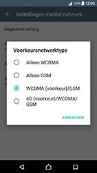 Sony Xperia X Performance (F8131) - Netwerk - Wijzig netwerkmodus - Stap 7
