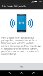 HTC Desire 816 - Internet et connexion - Partager votre connexion en Wi-Fi - Étape 7