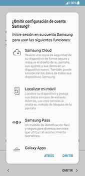Samsung Galaxy S8 - Primeros pasos - Activar el equipo - Paso 15