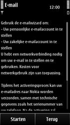 Nokia 500 - E-mail - Handmatig instellen - Stap 6