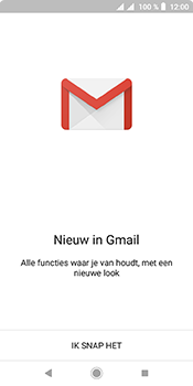 Sony xperia-l3 - E-mail - handmatig instellen (gmail) - Stap 5