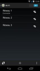 Acer Liquid Z500 - WiFi et Bluetooth - Configuration manuelle - Étape 8