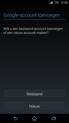 Sony Xperia Z3 4G (D6603) - Applicaties - Account aanmaken - Stap 4
