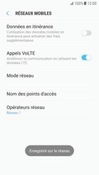 Samsung Galaxy S6 - Android Nougat - Réseau - utilisation à l'étranger - Étape 14