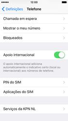 Apple iPhone SE - Segurança - Como ativar o código PIN do cartão de telemóvel -  4