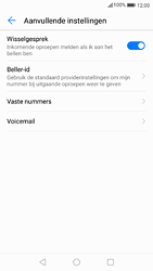 Huawei P9 - Android Nougat - Voicemail - handmatig instellen - Stap 7