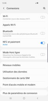 Samsung Galaxy S10 - Wifi - configuration manuelle - Étape 4