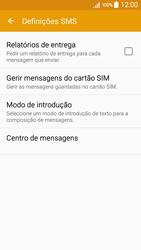 Samsung Galaxy A5 - SMS - Como configurar o centro de mensagens -  7