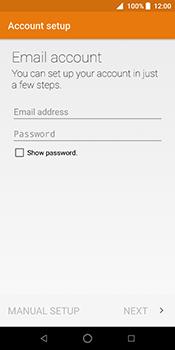 ZTE Blade V9 - E-mail - Manual configuration IMAP without SMTP verification - Step 11