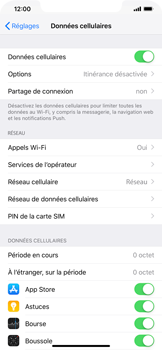 Apple iPhone XR - Securité - Modifier le code PIN de la carte SIM - Étape 4