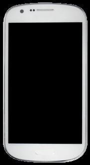 Samsung Galaxy Express - Premiers pas - Découvrir les touches principales - Étape 2