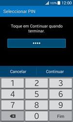 Samsung Galaxy Ace 4 - Segurança - Como ativar o código de bloqueio do ecrã -  8