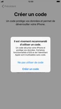 Apple iPhone 8 Plus - Premiers pas - Créer un compte - Étape 15