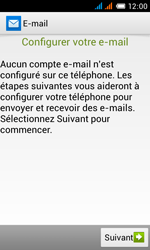 Alcatel OT-4033X Pop C3 - E-mail - Configurer l