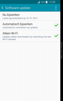 Samsung N915FY Galaxy Note Edge - Netwerk - Software updates installeren - Stap 7