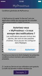 Apple iPhone 5 iOS 10 - Applications - MyProximus - Étape 12