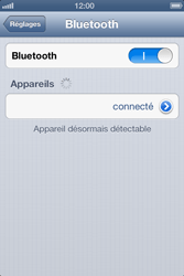 Apple iPhone 4 S - iOS 6 - Bluetooth - connexion Bluetooth - Étape 9