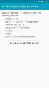 Samsung Galaxy S6 edge+ - Device maintenance - Retour aux réglages usine - Étape 7