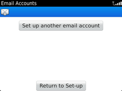 BlackBerry 9900 Bold Touch - Email - Manual configuration - Step 13