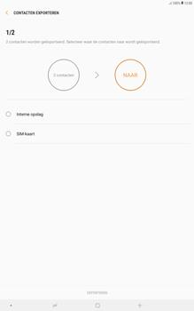 Samsung galaxy-tab-a-10-5-sm-t595 - Contacten en data - Contacten kopiëren van toestel naar SIM - Stap 9