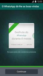Samsung Galaxy S5 - Aplicações - Como configurar o WhatsApp -  10