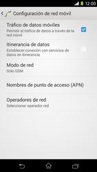 Sony Xperia M2 - Red - Seleccionar el tipo de red - Paso 8