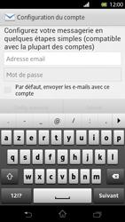 Sony LT30p Xperia T - E-mail - Configuration manuelle - Étape 5