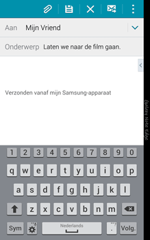 Samsung N915FY Galaxy Note Edge - E-mail - Hoe te versturen - Stap 9