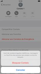 Apple iPhone 7 - iOS 13 - Chamadas - Como bloquear chamadas de um número específico - Etapa 6