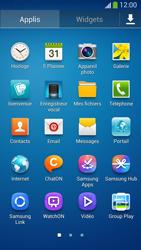 Samsung Galaxy S4 - Photos, vidéos, musique - Envoyer une photo via Bluetooth - Étape 3